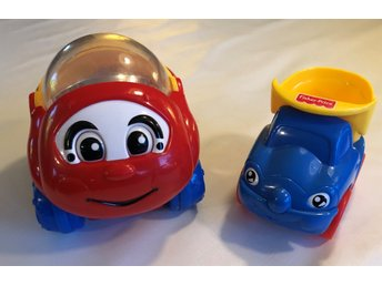 Fisher-Price leksaksbilar 2st