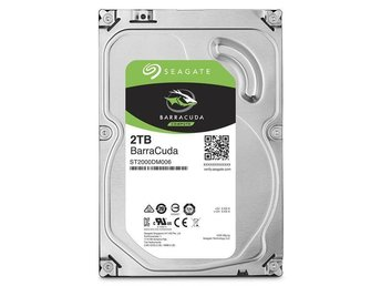 "Seagate BarraCuda Desktop HDD 3,5"" 2TB, 64MB, 7200RPM"
