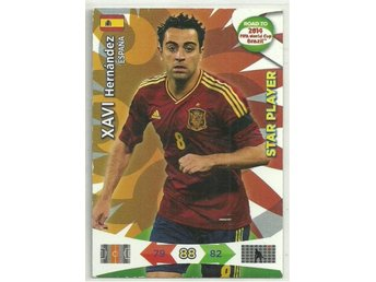 STAR PLAYER - XAVI -ROAD TO 2014 FIFA WORLD CUP BRAZIL