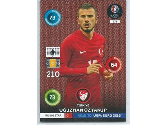 RISING STAR -ÖZYAKUP- TURKIYE  - ROAD TO EURO 2016