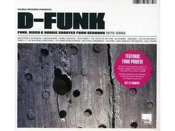 D-FUNK-CD-Funk, Disco & Boogie Grooves From Germany 1972-2002