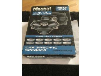 "Bilhögtalare Magnat Car Fit Style 9152 4x6"" modellanpassad - östersund - Bilhögtalare Magnat Car Fit Style 9152 4x6"" modellanpassad - östersund"