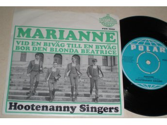 Hootenanny Singers 45/PS Marianne 1966