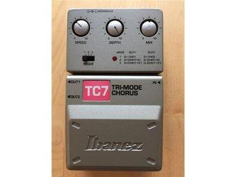 Ibanez TC7 - Tri Mode Chorus - NY - Vällingby - Ibanez TC7 - Tri Mode Chorus - NY - Vällingby