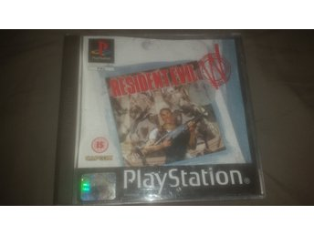 Resident Evil PSX Playstation PAL version