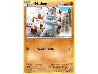 Pokémonkort: Machop [Furious Fists] 44/111