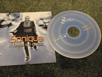 Sonique - It Feels So Good CD Singel (2000)