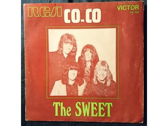 "THE SWEET  ""Coco/Done me wrong alright"" single 7""   1971  France"