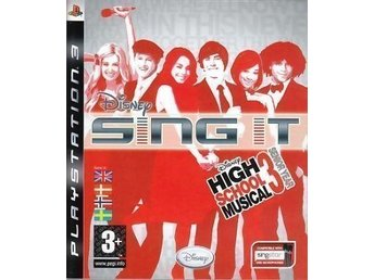 *Disney Sing It High School Musical 3 Senior Year PS3