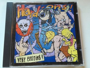 Hard-ons -very exciting 2009 punk