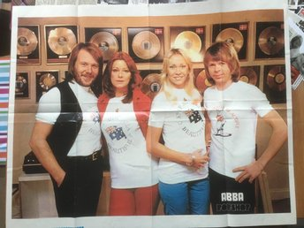 Abba poster 1978 excellent condition