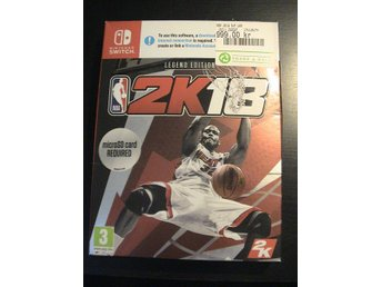 NBA 2K18 - LEGEND EDITION / NINTENDO SWITCH / HELT NYTT