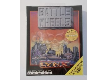 Atari Lynx: Battle Wheels! NYTT!