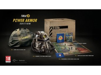 Fallout 76 Power Armor Edition - Sprillans ny!