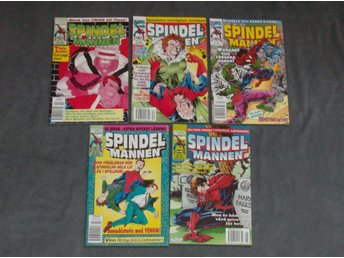 SPINDELMANNEN # 11- 15 - 1995  -MARVEL-