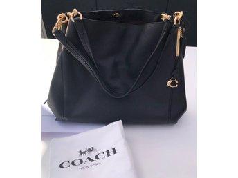Coach väska Dalton svart skinn