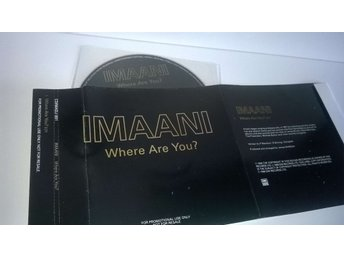 Imaani - Where are you?, single CD