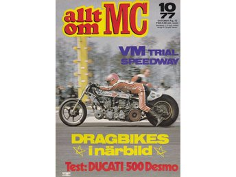 Allt Om Mc 1977-10 Ducati.Dragbike.BMW R 100 RS.NV Modell 38