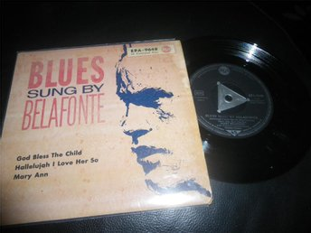 blues sung by belafonte ep