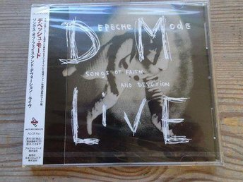 Depeche Mode japan promo Songs of Faith and Devotion Live Cd Ny inplastad