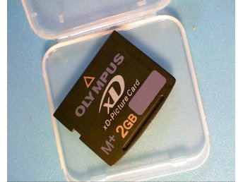Nytt xD card 2GB M+
