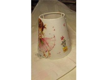 LAMPSKÄRM (4) Flicka med rosa klänning Helt Ny! - Nusnäs - LAMPSKÄRM (4) Flicka med rosa klänning Helt Ny! - Nusnäs