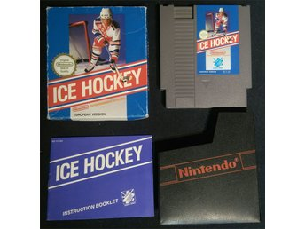 Ice Hockey - NES 8-bit CIB SCN