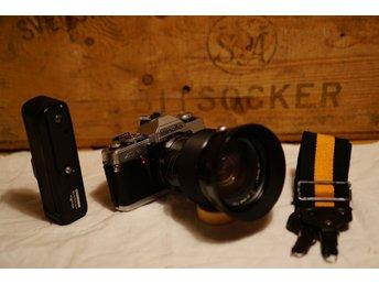 Analog Systemkamera Minolta XG2 med 35-85mm F2.8 - Södertälje - Analog Systemkamera Minolta XG2 med 35-85mm F2.8 - Södertälje