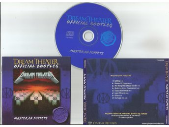 DREAM THEATER - MASTER OF PUPPETS (Live in Barcelona, 19.02.2002) CD