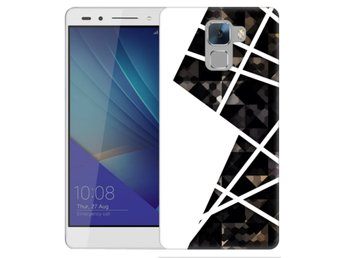 Huawei Honor 7 Skal White and Black