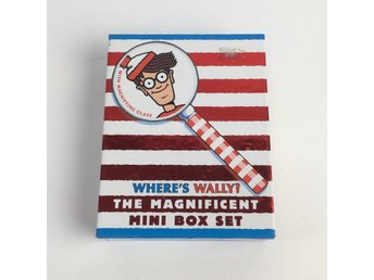 Urban Outfitters, Bok, Where's Wally?The Mini Box Set , Strl: 6 st