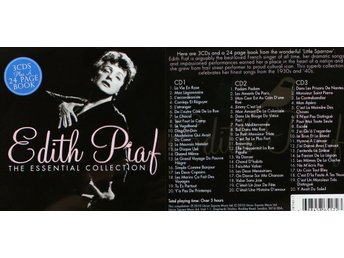 Edith Piaf, CD-box, The essential collection (3CD)