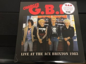 G.B.H. / LIVE AT THE ACE BRIXTON 1983 / HELT NY VINYL ALBUM INPLASTAD.