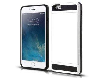 iPhone X - Korthållare Plånboksfodral Wallet Case Card Holder ShockProof -  Vit 4d2fcbb64d667