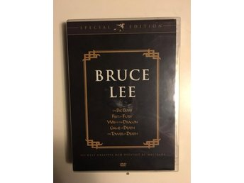Bruce Lee box/5-disc/The Big Boss/Fist of fury/way of the dragon+2