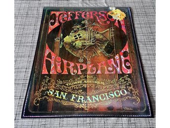 JEFFERSON AIRPLAINE SAN FRANSISCO 1969 PHOTO POSTER