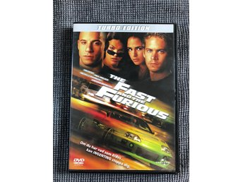 """THE FAST AND THE FURIOUS"" [DVD-FILM]"