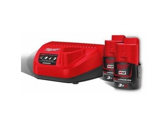 Laddpaket Milwaukee M12 NRG-302 -1kr-