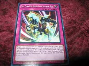 YU-GI-OH THE PHANTOM KNIGHTS OF SHADOW VEIL LEHD-ENC24