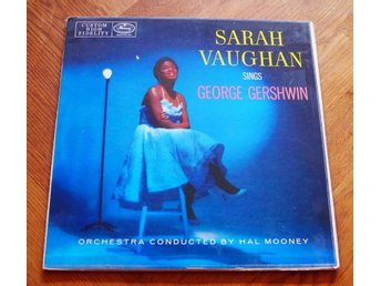 SARAH VAUGHAN 2 LP sings Gershwin US Mercury 1956 Jazz