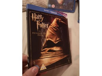 Harry Potter and the philosophers stone. - bluray med slipcover