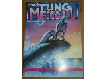 TUNG METALL NR 10 1987 Fint skick