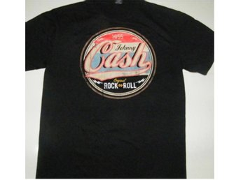 T-SHIRT: JOHNNY CASH  (Str L)