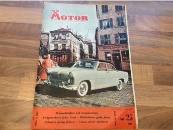 Motor nr 25 1957 Motor Bedömer Volvo Duett - Filipstad - Motor nr 25 1957 Motor Bedömer Volvo Duett - Filipstad