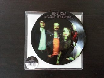 Spiders - Shake electric pic vinyl 7 Graveyard Horisont