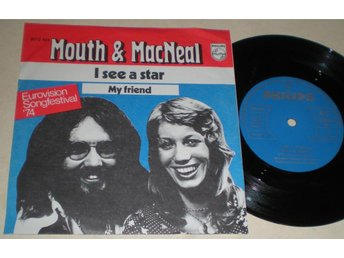 Mouth & Macneal 45/PS I see a star 1974 VG++