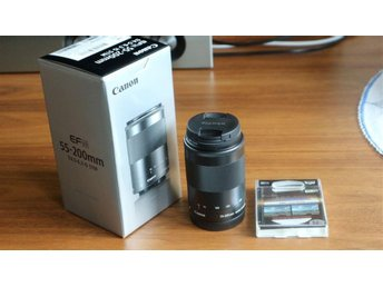 CANON EF-M 55-200mm f/4,5-6,3 IS STM svart