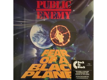 PUBLIC ENEMY - FEAR OF A BLACK PLANET NY 180G LP + MP3 DOWNLOAD