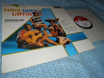 Hair Goes latin (LP) Decca Phase 4 Stereo NM/EX Topp!!
