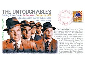 "55th Anniversary TVs ""The Untouchables"" Event Cover"